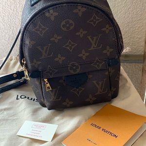 Louis Vuitton Palm Springs mini backpack 🎒